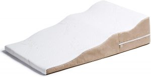 Avana Contoured Bed Wedge Support Pillow for Side Sleepers