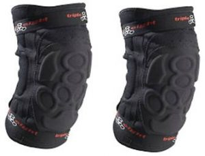 Best Knee Pads All Mountain Biking Review By Triple Eight ExoSkin Knee Pad
