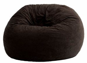Big Joe Large Fuf In Comfort Suede Bean Bag Chairs For Adults