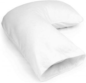 DMI U Shaped Contour Body Pillow Great for Side Sleeping