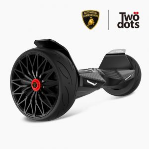 LAMBORGHINI TwoDots Hoverboard with App Glyboard Corse and Bluetooth Speaker LED Lights