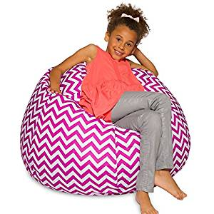 Patterned Bean bag chairs for teens adults & kids children