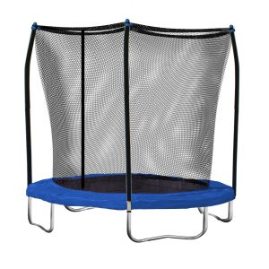Skywalker 8-Feet Round Trampoline with Safety Enclosure Combo, for kids