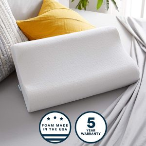 Sleep Innovations Contour Memory Foam Pillow For Side Sleeper