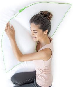 Sleep Yoga Side Sleeper Pillow with Arm Support