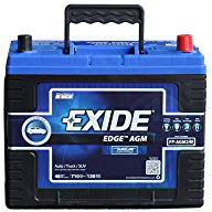 Exide Edge FP-AGM24 Flat Plate AGM Sealed Automotive Battery