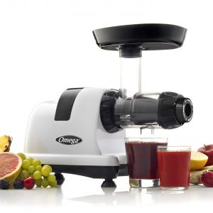 Omega J8006HDS Nutrition Center Quiet Dual-Stage Slow Speed Masticating Juicer